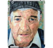 Elderly Man iPad Case/Skin