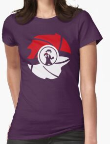 From Pallet Town With Love parody Womens Fitted T-Shirt