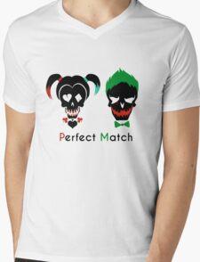 Das perfekte Paar Mens V-Neck T-Shirt