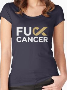 cancer shirt Women's Fitted Scoop T-Shirt