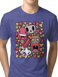 Character Doodles Tri-blend T-Shirt