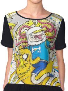 Adventure Time Zombie Chiffon Top