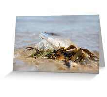 Message in a Bottle Greeting Card
