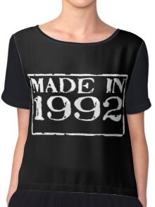 Made in 1992 Chiffon Top