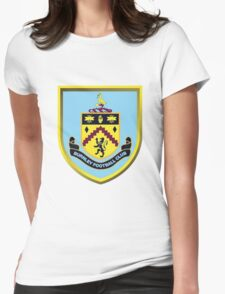 Burnley FC Badge 2016 Womens Fitted T-Shirt