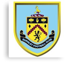 Burnley FC Badge 2016 Canvas Print