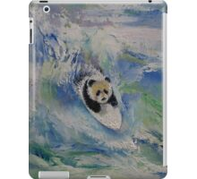 Panda Surfer iPad Case/Skin