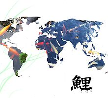 World Map of Koi by Lightrace