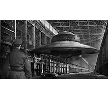 German flying saucer WW2 Photographic Print
