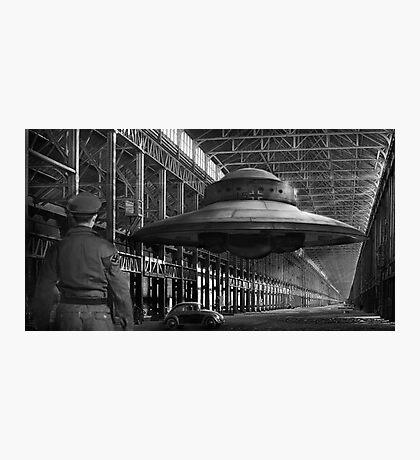 German flying saucer WW2 Photographic Print