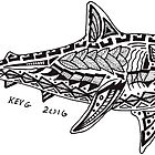 Polynesian Shark by ArtByKevG