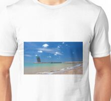 Algés beach. Unisex T-Shirt