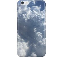 On a plane in the sky iPhone Case/Skin