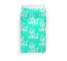 Matthew 5:14 Duvet Cover