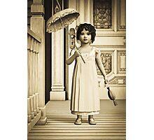 Vintage Girl Photographic Print