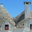 Trulli rooftops by Arie Koene