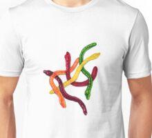 Jelly snakes Unisex T-Shirt