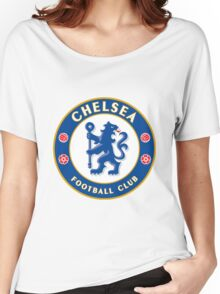 Chelsea FC Badge 2016 Women's Relaxed Fit T-Shirt