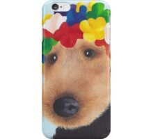 Welsh Terrier in a Swimming cap iPhone Case/Skin