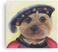 Yorkshire Terrier Henry VIII Canvas Print