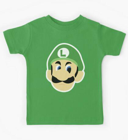 Luigi's Death Stare Kids Tee
