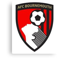 AFC Bournemouth Badge 2016 Canvas Print