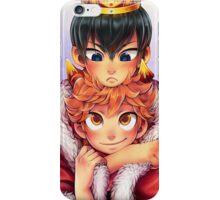 Kagehina Crow and crown iPhone Case/Skin