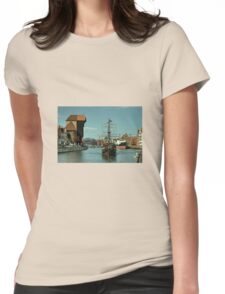 Gdansk Galleon  Womens Fitted T-Shirt