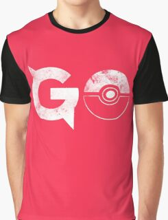 Pokemon Go Solid Graphic T-Shirt