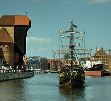 Gdansk Galleon  by Rob Hawkins
