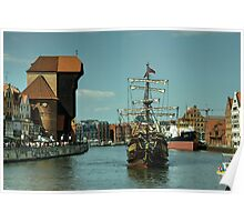 Gdansk Galleon  Poster