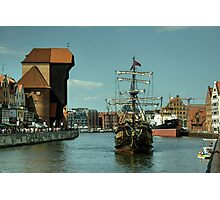 Gdansk Galleon  Photographic Print