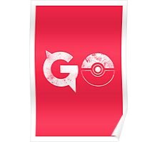 Pokemon Go Solid Poster