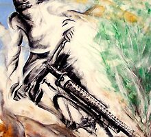 The sport serie: Mountain-bike by Philip Gaida