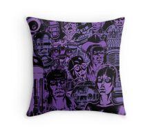 Movie Robot Throw Pillow