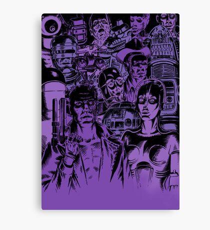 Movie Robot Canvas Print