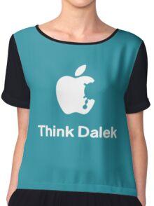 Think Dalek  Women's Chiffon Top