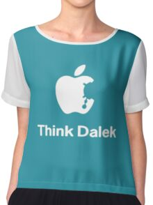 Think Dalek  Chiffon Top