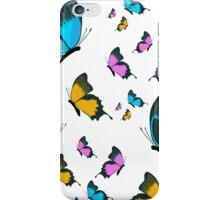 pop up butterfly vektor iPhone Case/Skin