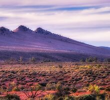 The Three Sisters Range by Mike Arnott