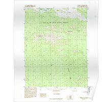 USGS TOPO Map Alaska AK Hughes C-5 356135 1986 63360 Poster