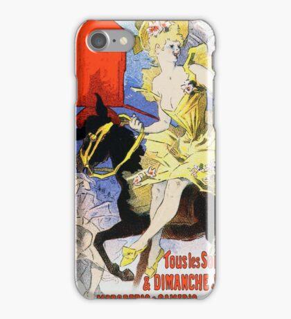Vintage Chéret, Jules 1886 Poster iPhone Case/Skin