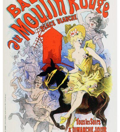 Vintage Chéret, Jules 1886 Poster Sticker