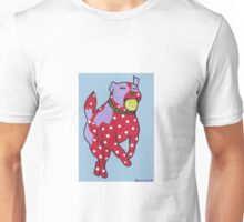 Spotty Dog with Ball Unisex T-Shirt