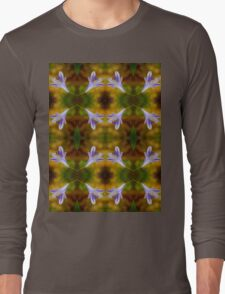 Agapanthus Pattern Long Sleeve T-Shirt