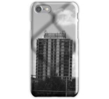 Grey-Scale Apartment Complex  iPhone Case/Skin