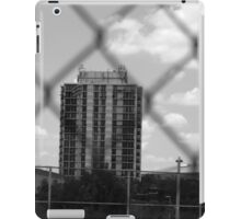 Grey-Scale Apartment Complex  iPad Case/Skin