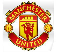 Manchester United FC Badge 2016 Poster