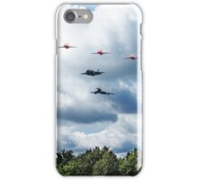 Red Arrows F35 Typhoon Fly By iPhone Case/Skin