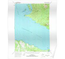 USGS TOPO Map Alaska AK Sumdum A-5 359361 1948 63360 Poster